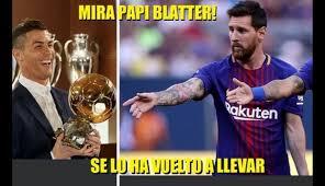 Memes De Messi - bal祿n de oro memes cristiano ronaldo lionel messi fotos foto 1