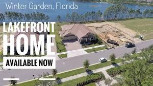new lakefront home in winter garden fl youtube