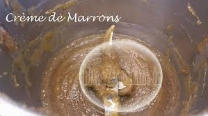 cuisiner les chataignes fraiches crème de marrons au thermomix cook