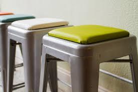 cushioned bar stool square stool cushion for metal stools tolix tabouret osp