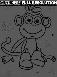 collection of solutions dora the explorer coloring pages to print
