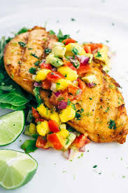 jose cuervo mango margarita grilled tequila lime chicken recipe with mango salsa jessica gavin