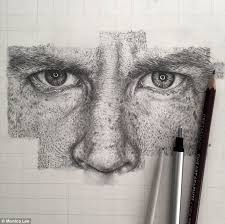 every pore and every freckle artist u0027s exquisite photorealistic