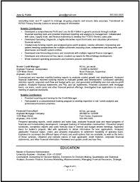 sample of finance resume resume samples for experienced finance