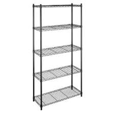 White Wire Shelving Unit by Wire Kitchen Shelving Unit Target