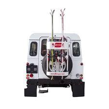 porta sci per auto gringo portasci posteriore da ruota di scorta per fuoristrada