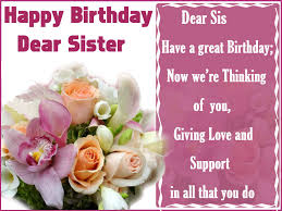 happy birthday cards for sister photo birthday cards free