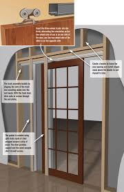 Install Basement Door by How To Install A Pocket Door Pro Construction Guide