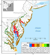 louisiana map global warming sea levels rising at nearly previous estimates due to