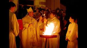 vigil lights catholic church catholic easter vigil youtube