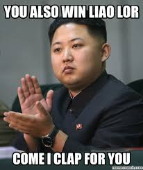 Well Meme - also win liao lor