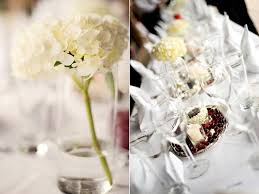 and fresh wedding reception flowers and table centerpieces