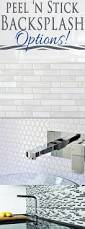 peel n stick backsplash options provident home design