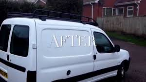 old peugeot van i shinevaleting transform your old work van valet and signage as