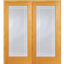 mmi door 74 in x 81 75 in unfinished pine half louver 1 panel
