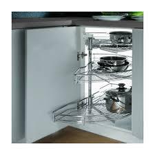 panier tournant pour meuble cuisine kit tourniquet pour meuble d angle 120cm 422 584