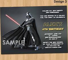 cartoon birthday invitation star wars birthday invitations new