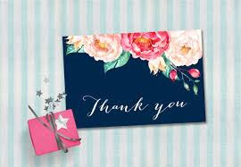 8 baby shower thank you cards design templates free