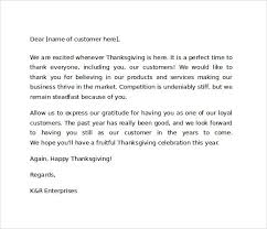 sample thank you for your business letter business thank you
