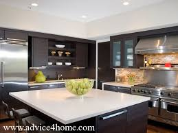 Style Of Kitchen Design Style Kitchen Design With Unadorned Doors Hardware Wnd Flush Setting