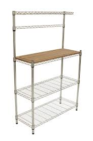 Small Bakers Rack With Drawers Ideas Small Bakers Rack With Storage Bakers Racks For Sale