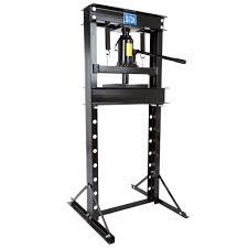 black widow 20 ton manual hydraulic shop press discount ramps