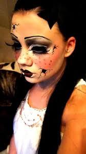 broken doll face kit doll face costumes halloween