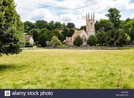 st nicholas church nestled amongst the trees on the chawton house