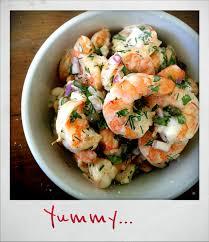 ina garten s shrimp salad barefoot contessa roasted shrimp salad based on ina garten s recipe eats from the