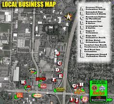 Columbus Ohio Traffic Map by Horrorhound Weekend Columbus Nov 3 5 2017