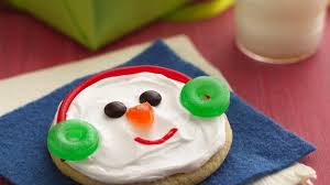 jolly snowman faces life made delicious