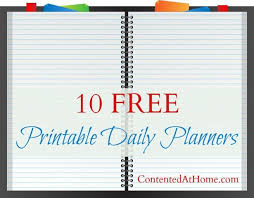 free printable daily planner pages 2014 10 free printable daily planners free printable planners and free