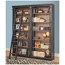 distressed bookshelves cabinets and storage lamps plus