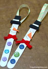 snowman ornaments and easy to make