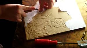 Simple Wood Carving Projects For Beginners introduction to relief carving wood mdf youtube