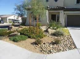 Front Curb Appeal - 30 photos of front yard desert landscaping with curb appeal home