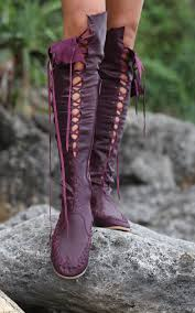 womens boots expensive plum knee high boots high leather boots leather and costumes