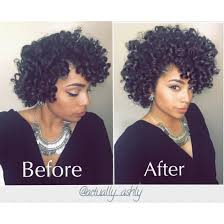 black rod hairstyles for 2015 perm rod set on natural hair this is to show you before and after