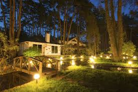 Landscape Low Voltage Lighting Landscape Low Voltage Lighting On The Side Of Ponds In The