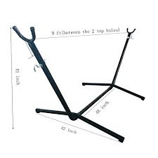 oncloud 9 ft hammock stand only portable heavy duty indoor outdoor