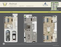 Buy Floor Plans by The Exchange At Westshore Floorplans Buy New Townhomes