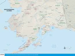 Anchorage Map Map Of Alaska You Can See A Map Of Many Places On The List On
