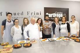 centre de formation cuisine tunisie cap sur l atelier du chef de cuisine foued frini 1001 tunisie