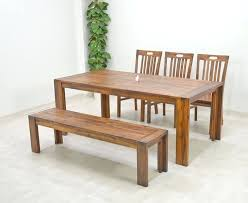 dining table rustic bench seat dining table rustic dining table