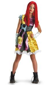 nightmare before christmas costumes the nightmare before christmas sally child tween costume