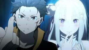 subaru and emilia cosplay subaru x emilia re zero kara hajimeru isekai seikatsu