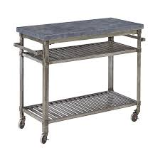 shop home styles urban style aged metal outdoor serving cart at
