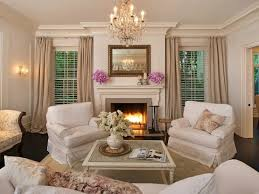 Shabby Chic Fireplace by Shabby Chic Living Room Cottage Living Room Rachel Ashwell