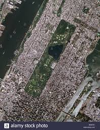 Central Park New York Map by Aerial Map View Above Midtown Manhattan Central Park Roosevelt