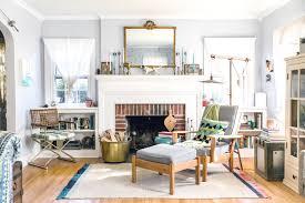 tour a designer u0027s remodel filled with vintage finds apartment
